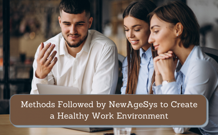 Methods Followed by NewAgeSys to Create a Healthy Work Environment